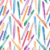 Pattern of a pens Stock Images