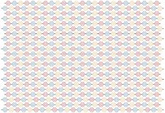 Pattern with pentagons, abstract Royalty Free Stock Photos