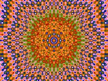 Pattern for the people. Colorful kaleidoscope pattern shapes resembling a crowd of people if you look carefully and have great imagination and believe what I say vector illustration