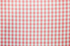 Pattern picnic tablecloth. As a background Stock Photo