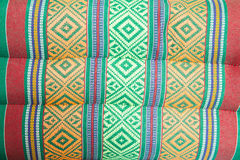 Pattern pillow embroidered with Thailand. Stock Photos