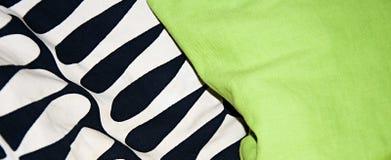 Pattern of pillows. Stock Photos