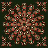 Pattern for  pillows. And for kerchief Royalty Free Stock Photo