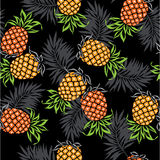 Pattern of pineapple Stock Photo