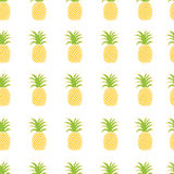 Pattern of pineapples Stock Photo