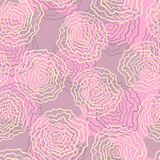 Pattern with pink background Stock Images