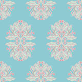 Pattern with pink berries Stock Photos
