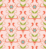 Pattern Pink Flowers texture Royalty Free Stock Images
