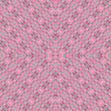 Pattern of pink pills in transparent plastic package Royalty Free Stock Images