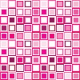 Pattern in pink squares Stock Image