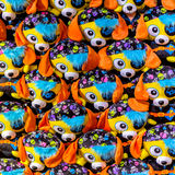 Pattern of pirate cuddly animals Stock Image