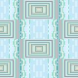 Pattern pixel texture blue green. Illustration vector texture pattern seamless pixel art Vector Illustration