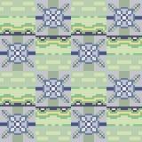 Pattern pixel texture gray green. Illustration vector texture pattern seamless pixel art Stock Illustration