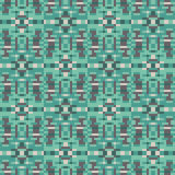 Pattern pixel texture green. Illustration vector texture pattern seamless pixel art Royalty Free Illustration