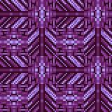 Pattern pixel texture purple. Illustration vector texture pattern seamless pixel art Stock Illustration