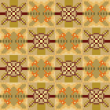 Pattern pixel texture yellow brown. Illustration vector texture pattern seamless pixel art vector illustration