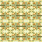 Pattern pixel texture yellow green. Illustration vector texture pattern seamless pixel art Vector Illustration