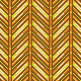 Pattern pixel texture yellow orange. Illustration vector texture pattern seamless pixel art Stock Illustration