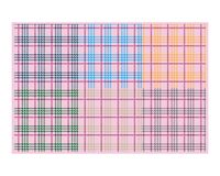Pattern plaid strips. With pastel colors modern vector illustrations for fabric textile or wallpaper prints Geometric simple fashion fabric print. Vector vector illustration