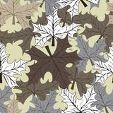 Pattern Plant of simple stock photo