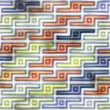 Pattern (plastic, aqua, metal) stripes. Stock Images