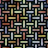 Pattern (plastic, aqua, metal) stripes. Royalty Free Stock Images