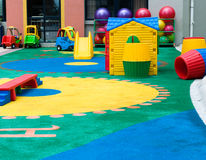 Pattern on the playground Stock Images