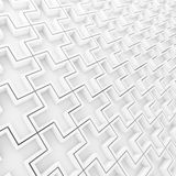 Pattern plus sign for backgroundind Royalty Free Stock Images