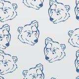 Pattern, polar bear Royalty Free Stock Photos