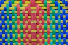 Pattern of polypropylene woven Stock Photo