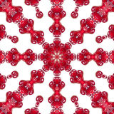 Pattern of of pomegranate seeds Stock Image