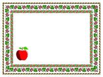 Pattern, popular motif, regular motif, tablecloth Royalty Free Stock Photo