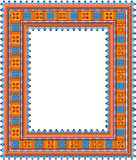Pattern, popular motif, regular motif, tablecloth, picture Royalty Free Stock Images