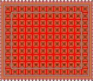 Pattern, popular motif, regular motif, tablecloth, picture Royalty Free Stock Image