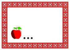 Pattern, popular motif, regular motif, tablecloth, picture Stock Photo