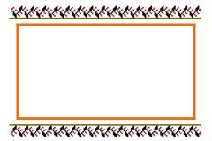 Pattern, popular motifs. Stock Images