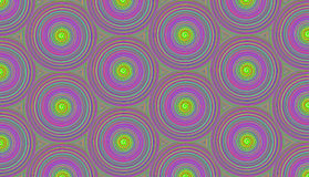 Pattern purple circles with an optical spiral effect with stock illustration