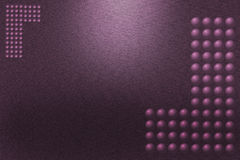 Pattern of purple metal background Stock Image