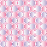 Pattern with purple and pink circles effect button Stock Images