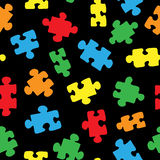 The pattern of the puzzle 02 Stock Photography