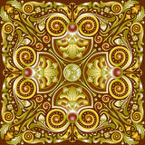 Pattern quadrate royalty free stock image