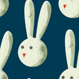 Pattern with rabbits Stock Image