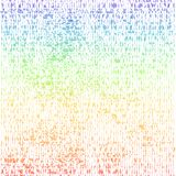 Pattern - rainbow Royalty Free Stock Photo