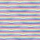 Pattern with rainbow. Royalty Free Stock Images