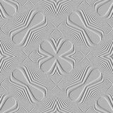 Pattern with raised impression effect. Stock Photos