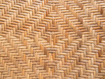 Pattern of rattan weave. Handicraft pattern of rattan weave Royalty Free Stock Photos