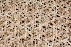 Pattern of rattan wicker Stock Image