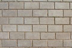 The pattern of rectangular paving blocks Stock Photos
