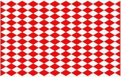 Free Pattern Red Alternate White Cross On Background, 30 Degree Straight Line Intersects A Diamond Square Royalty Free Stock Image - 169291526