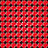 Pattern red and black background Royalty Free Stock Image